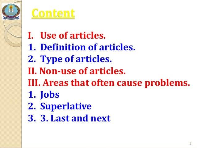 Grammar Article