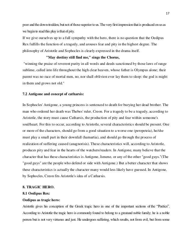 essay oedipus as a tragic hero