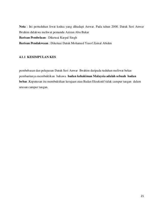 Nota : Ini pertuduhan liwat kedua yang dihadapi Anwar. Pada tahun 2000, Datuk Seri Anwar Ibrahim didakwa meliwat pemandu A...