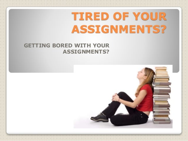 Main Problems of Assignment or Homework