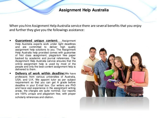 Assignment help in australia