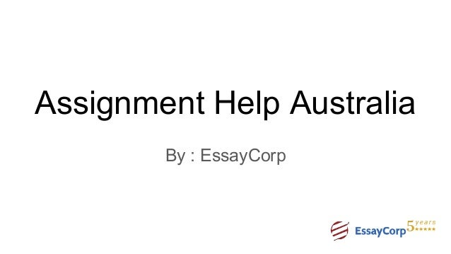 Professional assignment help for Australian students