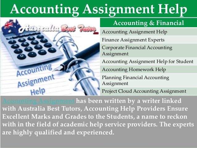 assignment help best assignment expert  5 accounting assignment