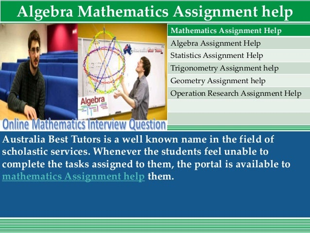 assignment help best assignment expert  7 algebra mathematics assignment help