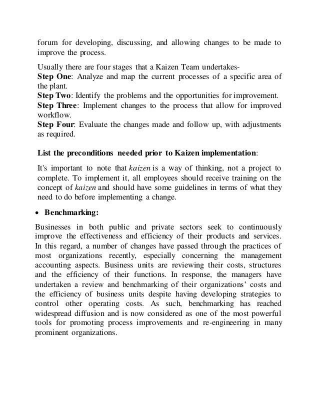 assignment kaizen  3 forum