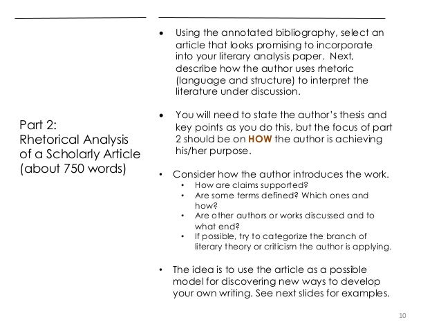 literary analysis paper for american literature 10