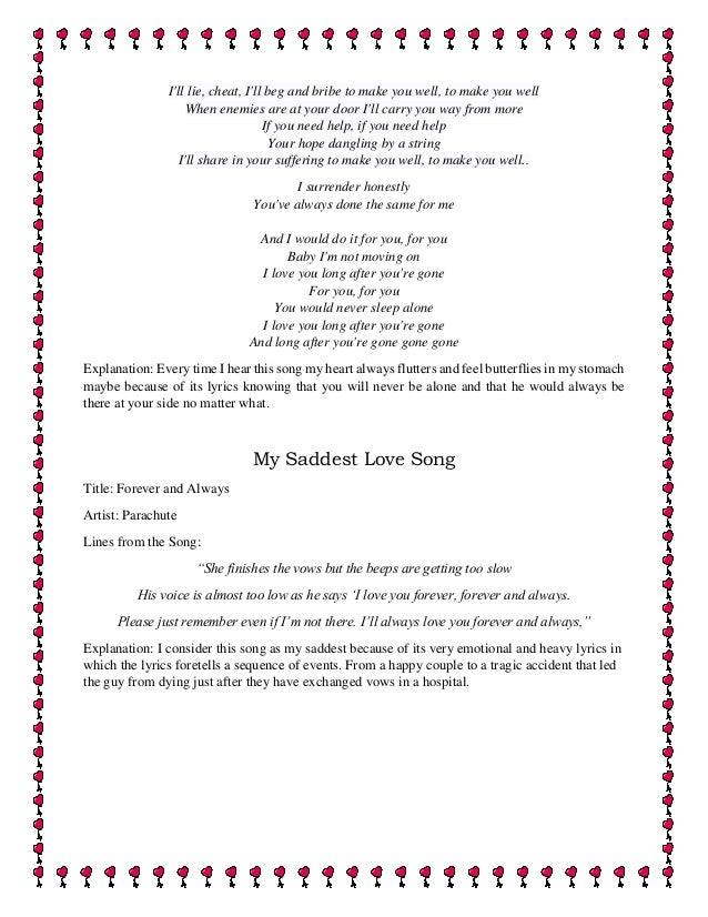 i love you long after you re gone lyrics