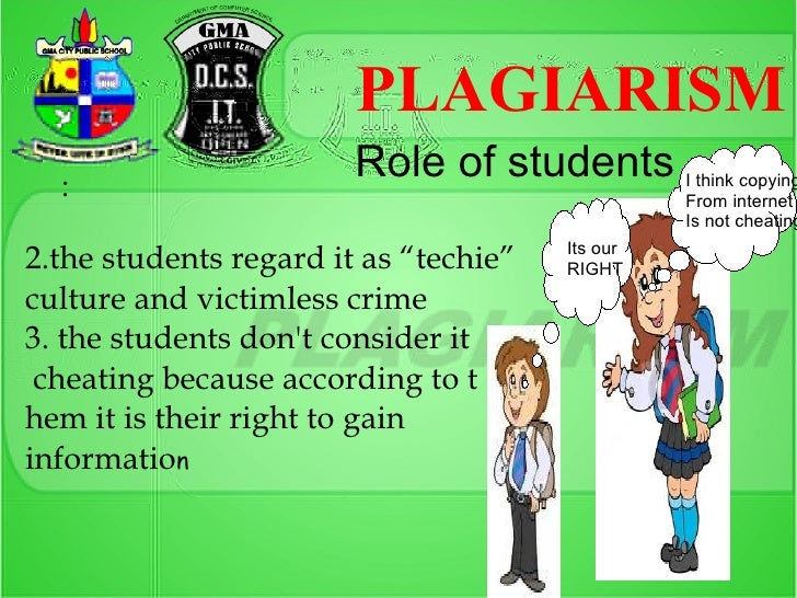 Why people commit plagiarism