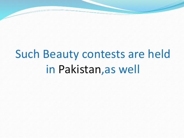 Do beauty pageants contribute positively to society?