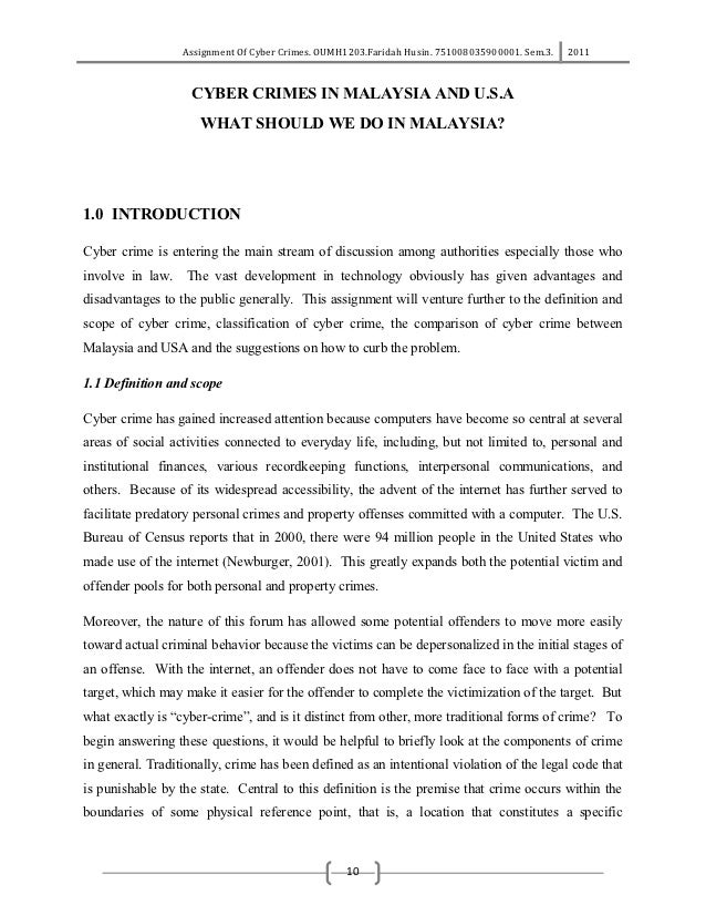 mode and manners of committing cyber crime information technology essay Proposal - dealing with cyber crime – challenges and solutions it is an increasingly important concern for the average personal technology user.
