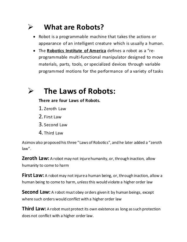 Assignment of ict robotics