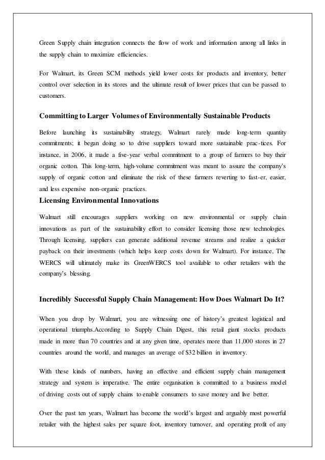 walmart history essay