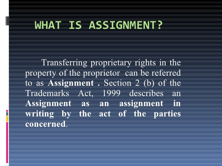 assignment by operation of law Finally, the death or declaration of bankruptcy by the assignor will automatically revoke the assignment by operation of law breach and defenses a.