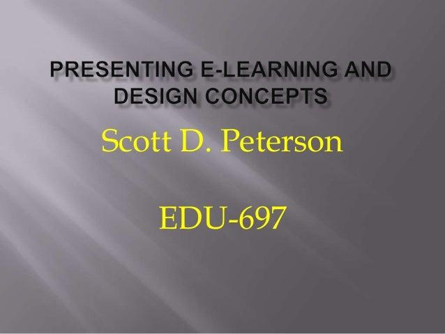 Scott D. Peterson EDU-697
