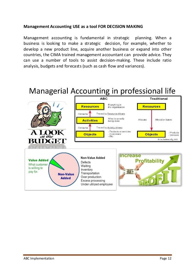 management accounting assignment pdf