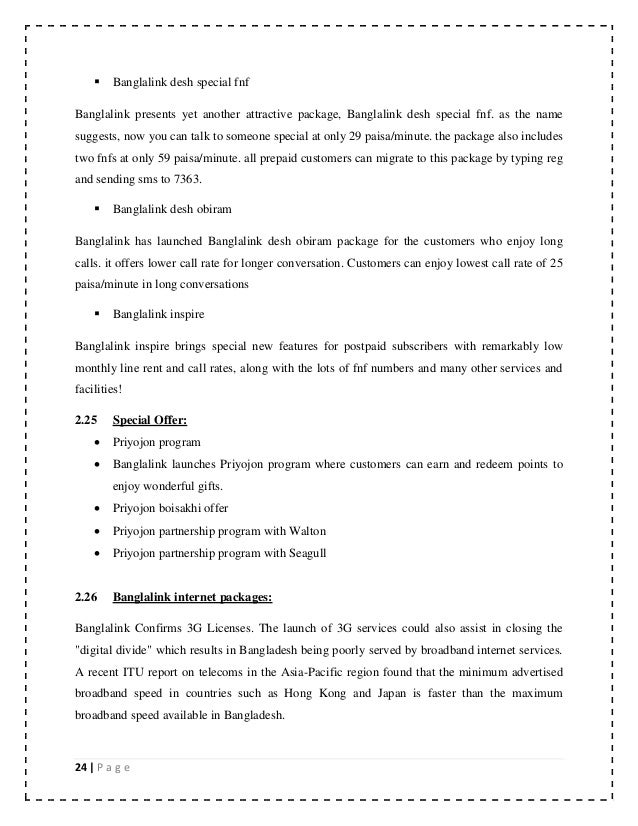 assignment on banglalink The report on background of banglalink the discussed about the human  resource process of banglalink customer care.