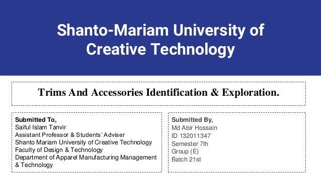Trims Accessories Identification Exploration