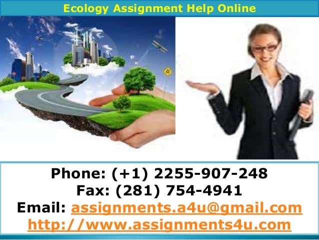 ecology assignment
