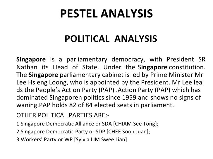 Singapore's Political, Economic, and Social