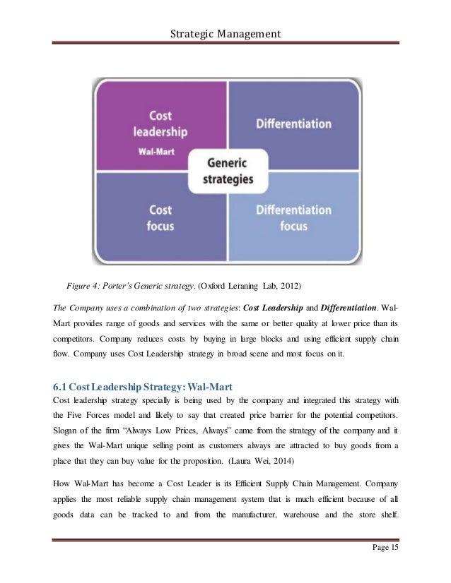 walmart business strategy analysis