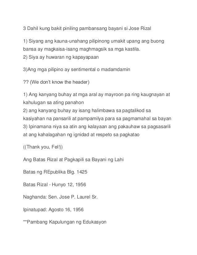 dahilan kung bakit sinulat ni dr jose rizal ang el filibusterismo Nagbago ang mga nilalaman ng mga sinulat ni rizal sa kaniyang dalawang obra, ang noli me tangere, na nilimbag sa berlin noong 1887, at el filibusterismo, na nilimbag sa ghent noong 1891 para magkaroon ng pondo upang mailimbag ang huli ay nangutang si rizal sa kaniyang mga kaibigan.