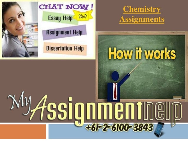 Chemistry Assignments