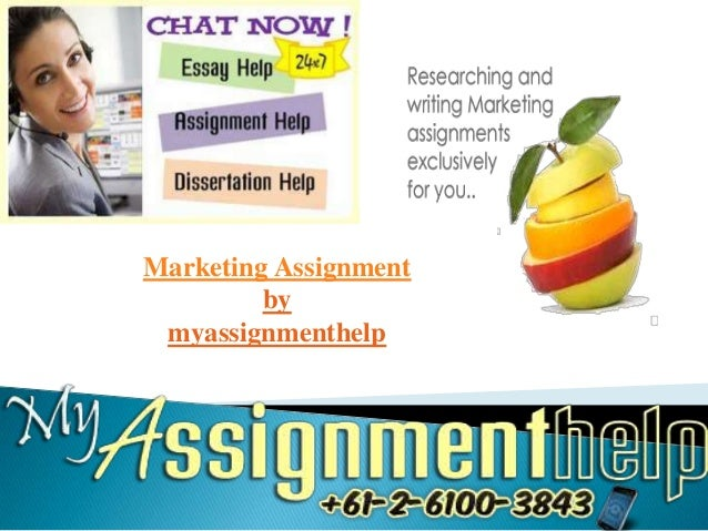 Marketing Assignment by myassignmenthelp