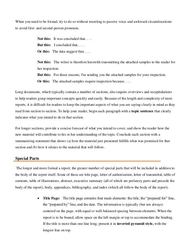 Unit 3: Writing for Effective Communication: Formal Occasions