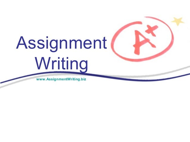 assignment writting