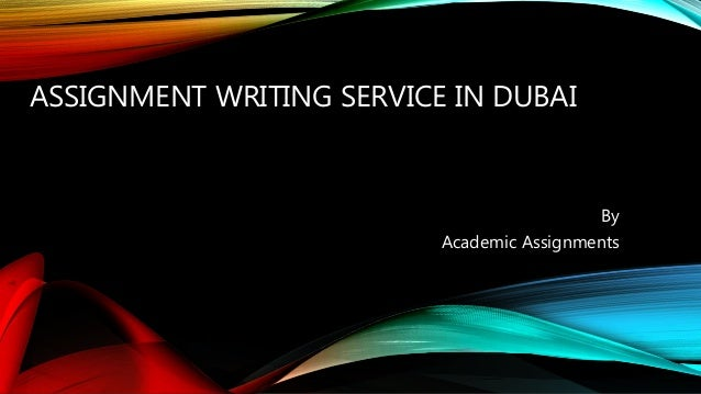 Assignment Help in Dubai