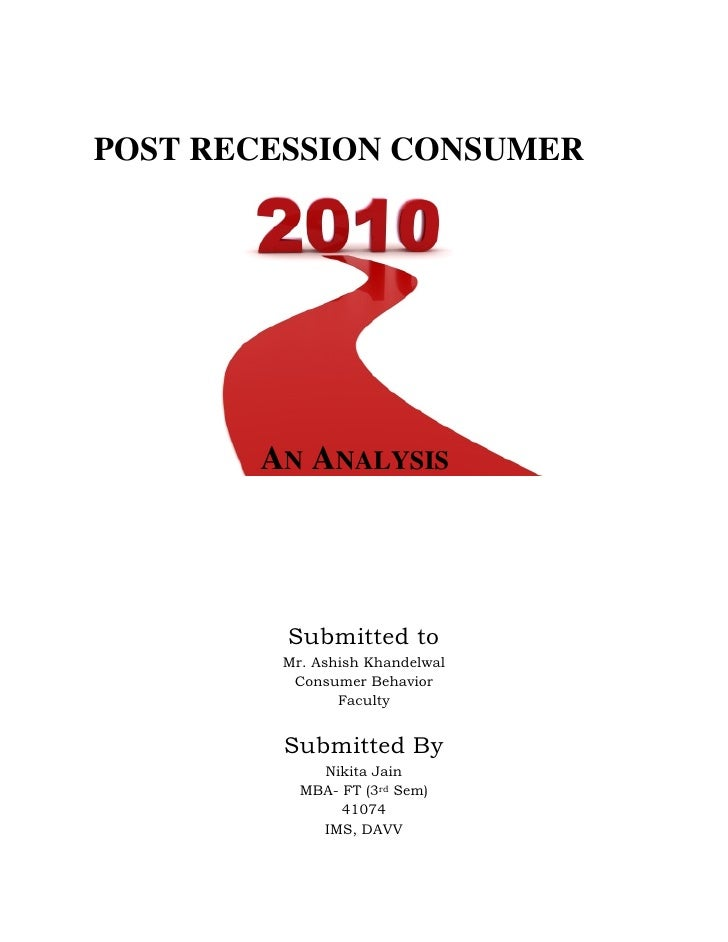 an analysis of recessions The great recession of 2008-09 was characterized by we begin our data analysis by using macroeco- growth rates from all other recessions since 1971 this graph shows that the average real pce growth 4 1q/2012, economic perspectives.