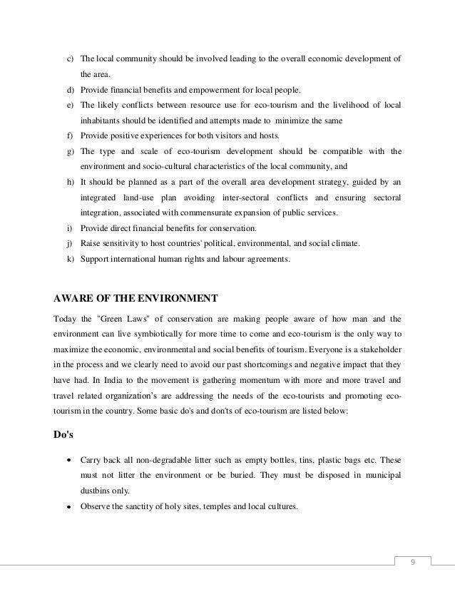 ecotourism 8 9