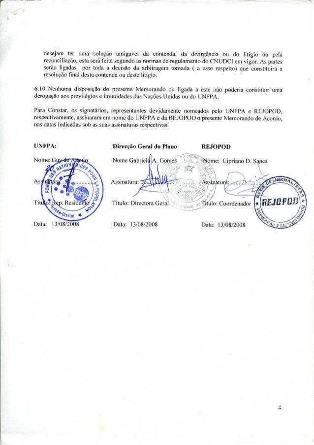 Assinatura memorando acordo