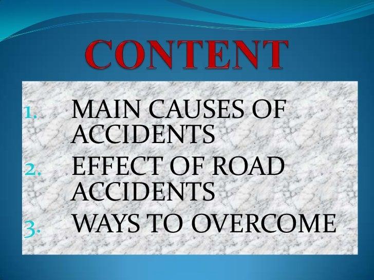 Assingment of road accident Slide 2