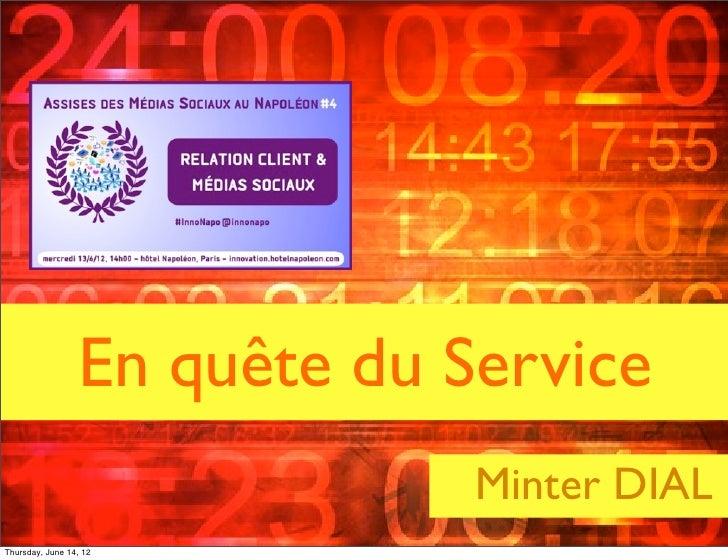 En quête du Service                                                                    Minter DIAL                        ...