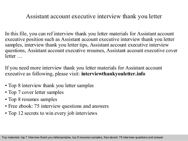 assistant account executive resumes