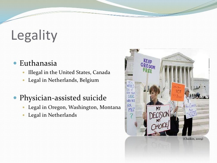 the statistics of euthanasia in the united states Overview of the major legal developments related to suicide, suicide laws and efforts to legalize assisted suicide in the united states.
