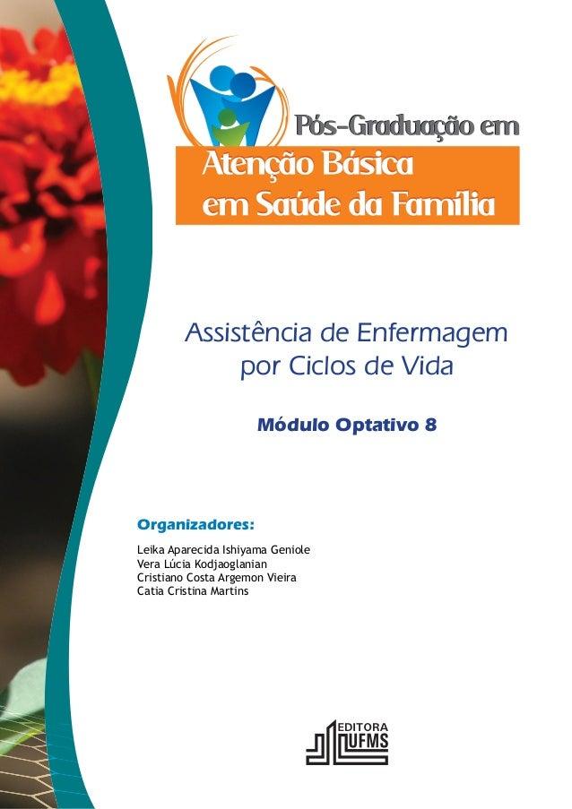 Assistência de Enfermagem  por Ciclos de Vida  Organizadores:  Módulo Optativo 8  Leika Aparecida Ishiyama Geniole  Vera L...