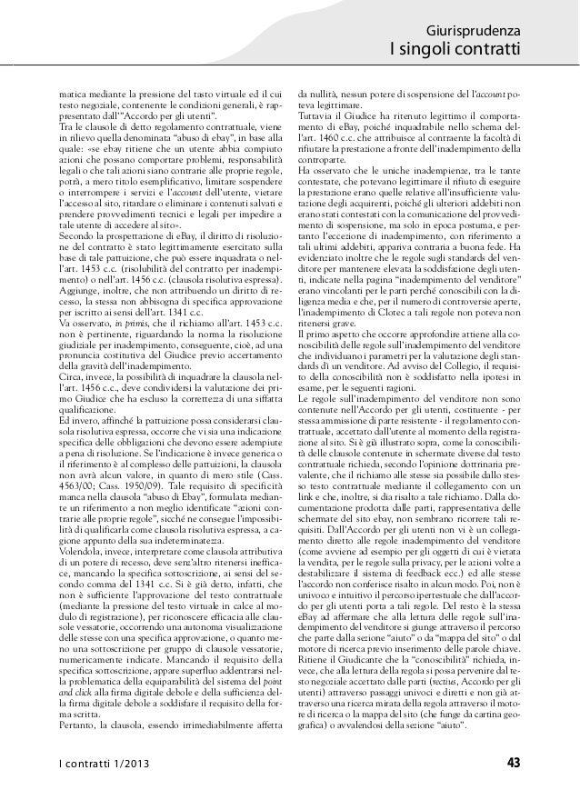 Contratti Online e Clausole Vessatorie - Studio Legale Pandolfini Assistenza Legale Imprese Slide 3