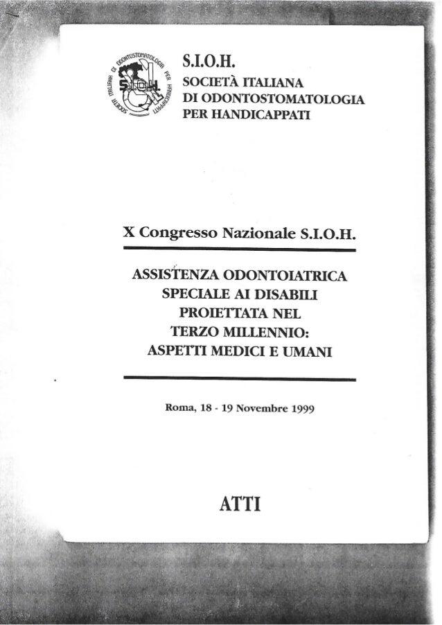 Lorenzo Damia - Assistenza odontoitrica speciale ai disabili