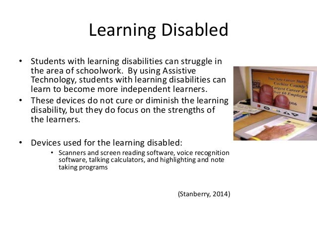 A Resource Guide to Assistive Technology for Students with ...