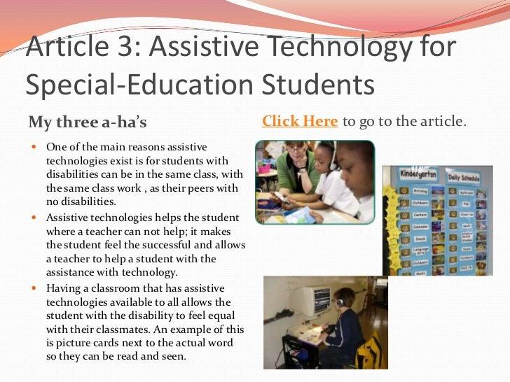 assistive concept articles