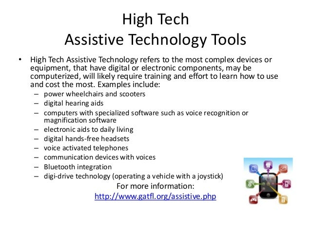 assistive technology in special education research papers Technology term papers (paper 6819) on assistive technology the free technology research paper (assistive technology cloning college education college papers.