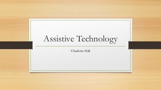 Assistive Technology Charlotte Hall