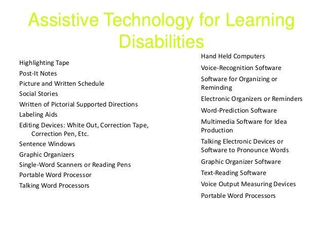 Bo Hartley Warren Assistive Technology Presentation