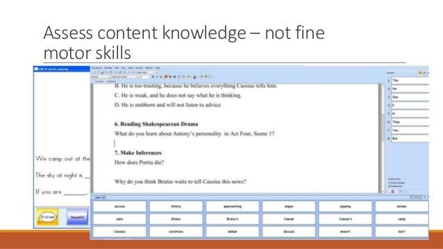 Assistive technology for fine motor skills for Fine motor skills assessment checklist