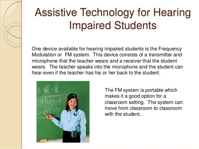 Assistive Technology for Students with Learning Disabilities