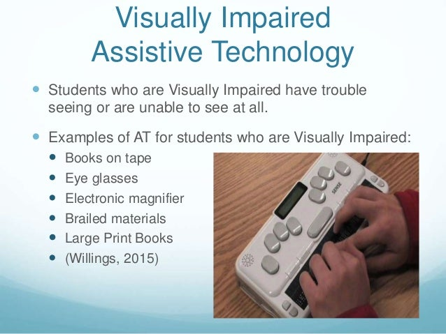 Assistive Technology For Students With Disabilities ...