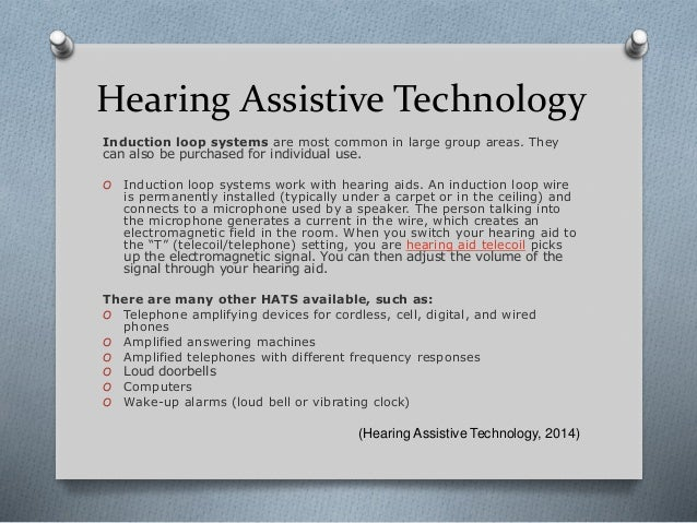 Assistive Technology M4 Assignement Powerpoint