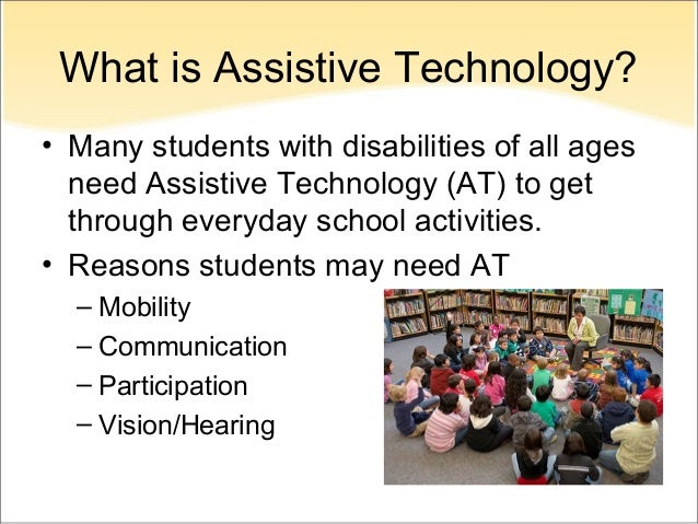 Assistive Technology and Special Education Students
